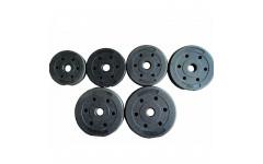 Диск пластиковый/цемент чёрный  (d 26 мм.)   2,5 кг.