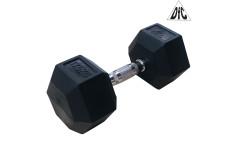 Гантели DFC гексагональные обрезиненные 17.5 кг. (пара) DB001-17.5