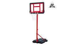 Мобильная баскетбольная стойка DFC KIDSB2 п/п черн.щит,