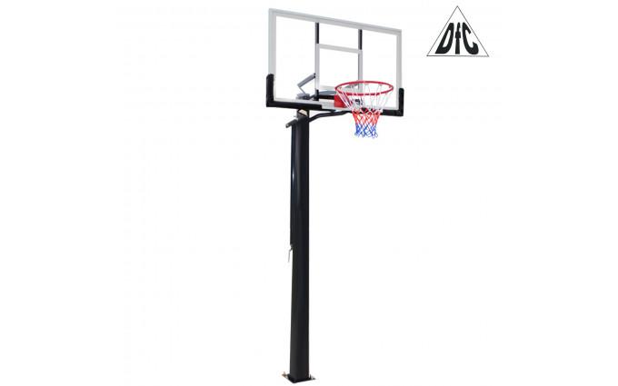 Баскетбольная стационарная стойка Dfc Ing56a 143x80cm акрил (три короба)