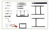 Баск. щит Dfc Board72g 180x105см стекло 10мм (два короба)