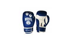 Перчатки боксерские VagroSport RING RS812, 12 унций, синий
