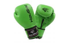 Перчатки боксерские KouGar KO500-10, 10oz, зеленый
