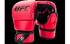 Перчатки MMA для спарринга 8 унций (Красные L/XL) UFC