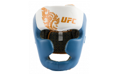 Шлем для бокса UFC Premium True Thai, цвет синий, размер L
