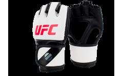 Перчатки MMA для грэпплинга 5 унций (Белые S/M) UFC
