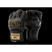 Премиальные MMA тренировочные перчатки 6 унций (Чёрные S/M) UFC