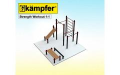 Воркаут площадка Kampfer Strength Workout 1-1