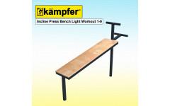 Пресс-скамья Воркаут Kampfer Incline Press Bench Light Workout 1-9