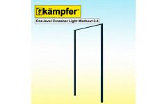 Турник Воркаут Kampfer One-level Crossbar Light Workout 2-4