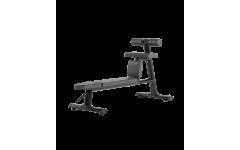 Bronze Gym H-035 Скамья для скручиваний горизонтальная (черный)