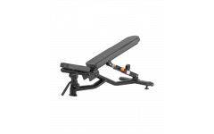 Скамья регулируемая Bronze Gym H-037 (черный)