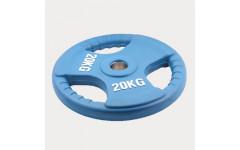 Олимпийский диск евро-классик--с тройным хватом 20 кг.