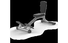 Скамья-стул MATRIX MAGNUM A87 серебристый