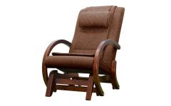 Массажное кресло-качалка EGO TWIST КОФЕ (Рогожка)
