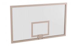 Щит баскетбольный игровой 1050х1800 мм (стекло 10 мм с ударопрочной пленкой)