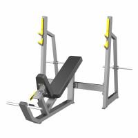 Скамья-стойка для жима под углом вверх (Olympic Bench Incline)