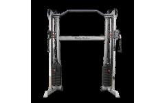 Сдвоенная блочная стойка с двумя весовыми стеками по 72,5 кг